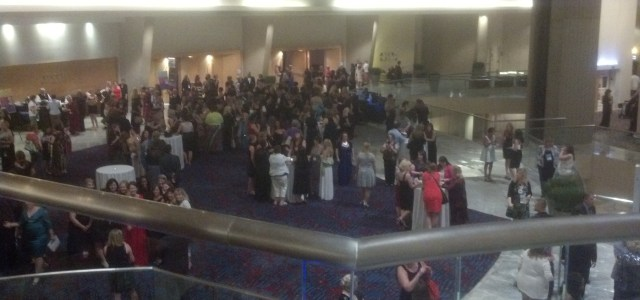 RWA 2013 - View from the Atlanta Marriott Marquis balcony after the RITA Awards